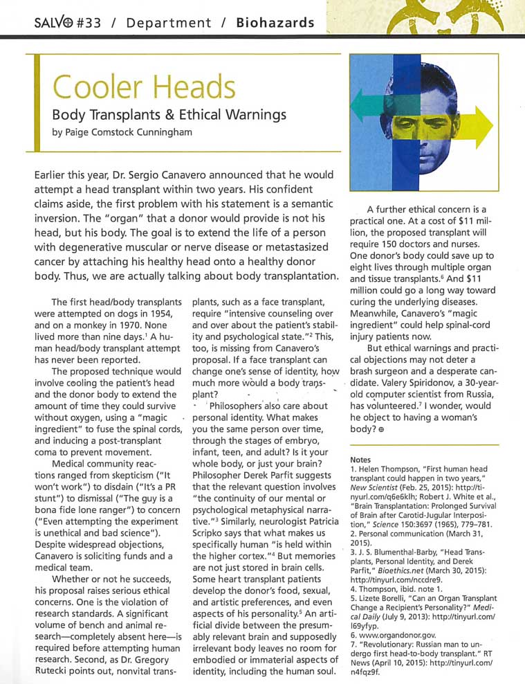 Cooler Heads Article Thumbnail